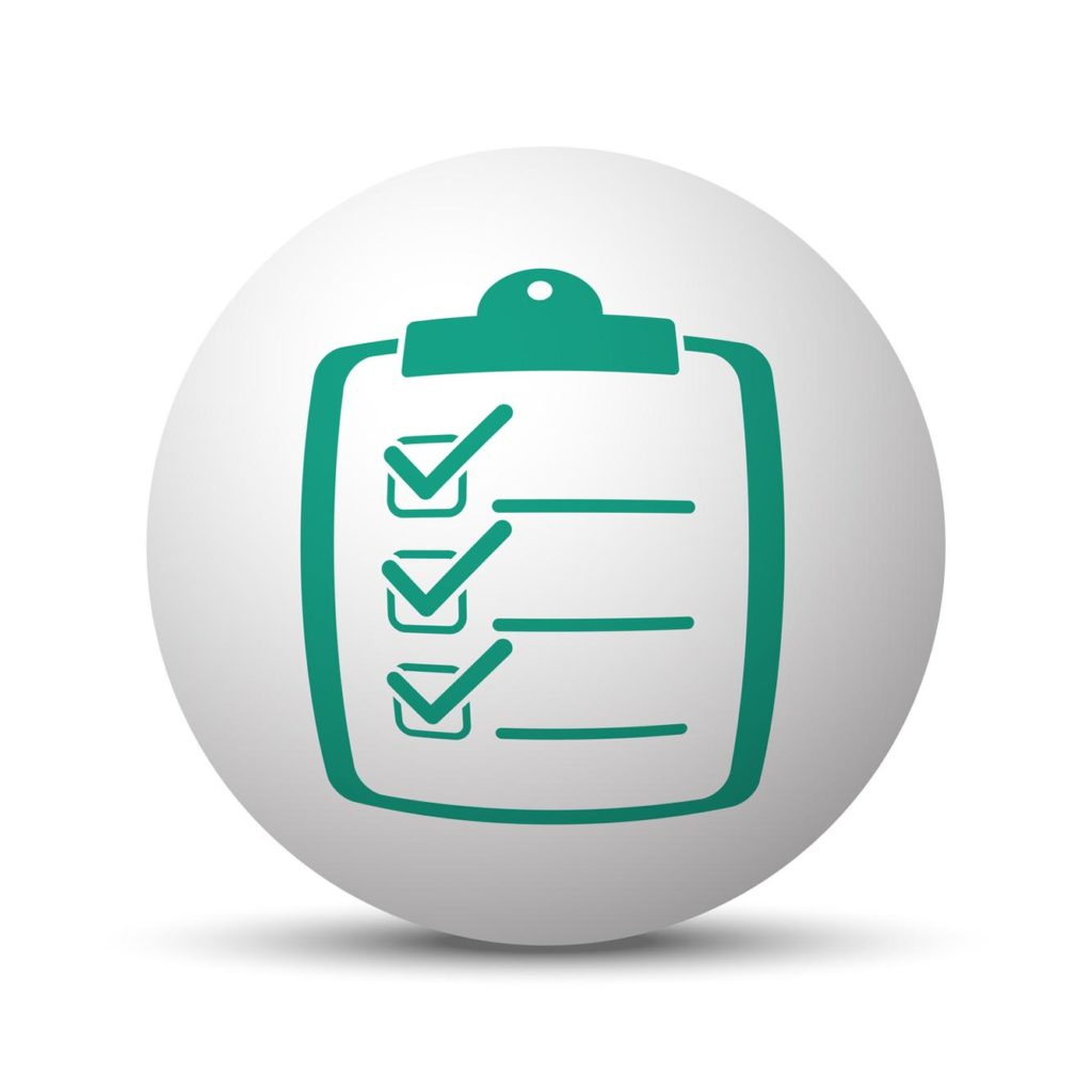 Checklist shopping click and collect